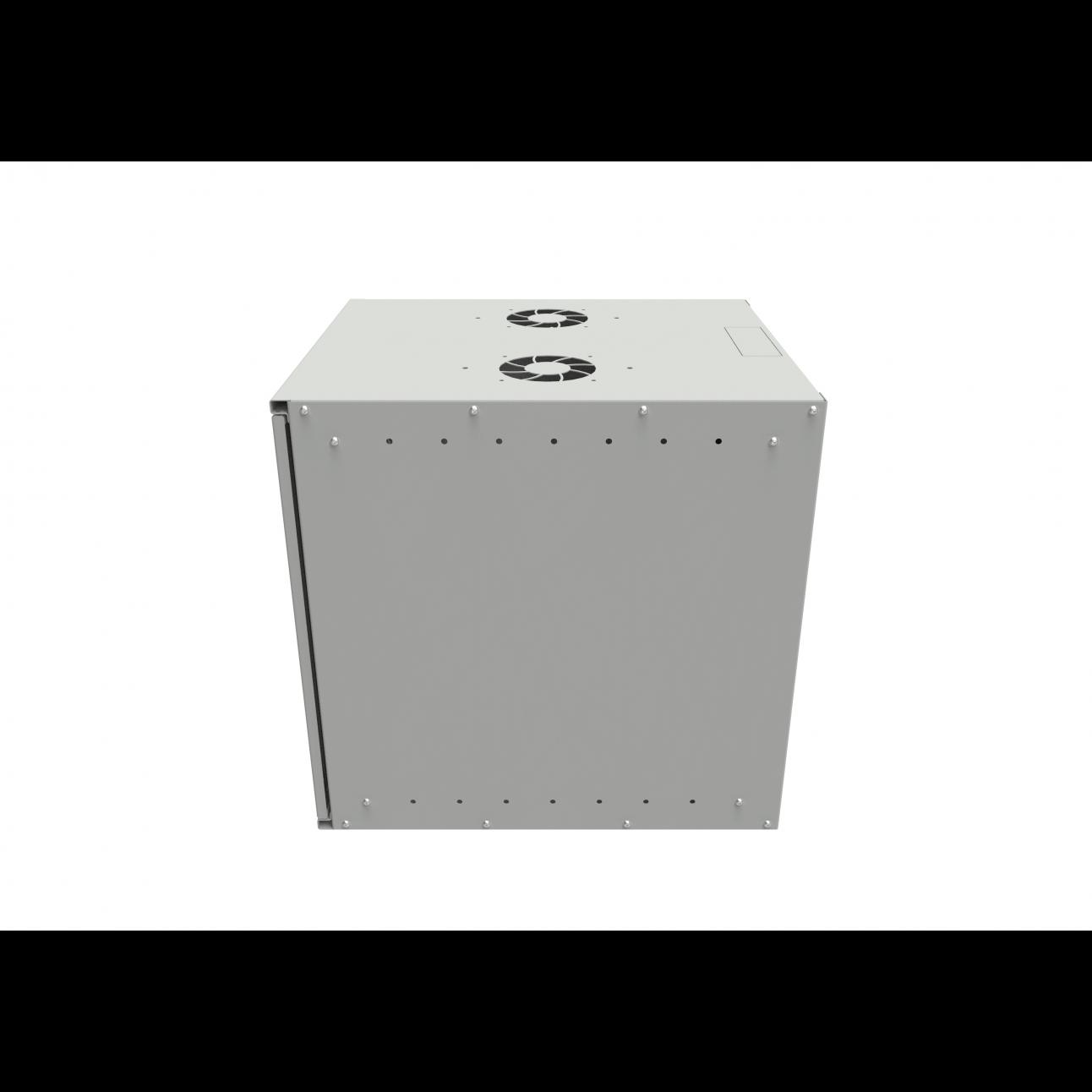 Шкаф телекоммуникационный настенный SNR-BNP6012-M, 12U, 580х520х600 мм (дверь металлическая)