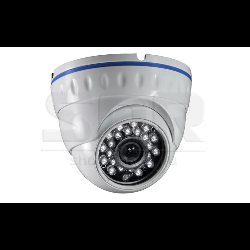 """Камера видеонаблюдения купольная 1/3"""" ExView HAD II, 700ТВЛ, 3.6мм, ИК-подсветка до 20м, вандалозащищенная(НК)"""