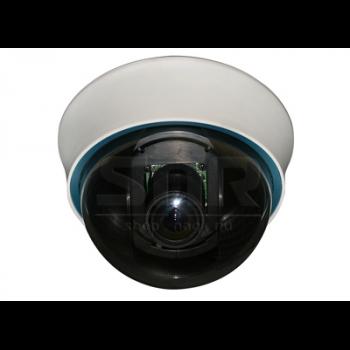 """Камера видеонаблюдения купольная 1/3"""" ExView HAD II, 700ТВЛ, 2.8-12мм (неполная комплектация)"""