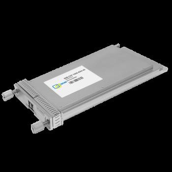 Двухволоконный модуль, CFP 100GBASE-ER4, разъем LC, дальность до 40км (18dB)