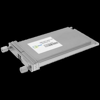 Двухволоконный модуль, CFP 100GBASE-LR4, разъем LC, дальность до 10км (6.5dB)