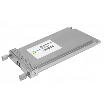 Двухволоконный модуль, CFP 40GBASE-ER4, разъем LC, дальность до 40км (18dB)