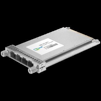 Конвертер интерфейсов CFP 40G в 4-е SFP+ 10G