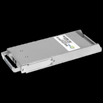 Двухволоконный модуль, CFP2 100GBASE-ER4, разъем LC, дальность до 40км (18dB)