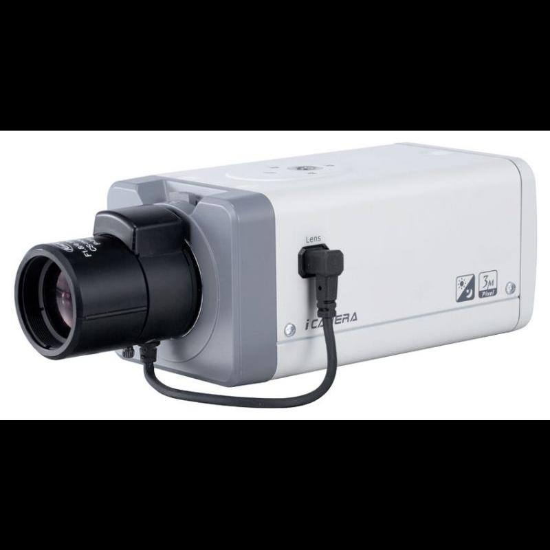 IP камера SNR корпусная 3.0Мп, без объектива, SFP порт