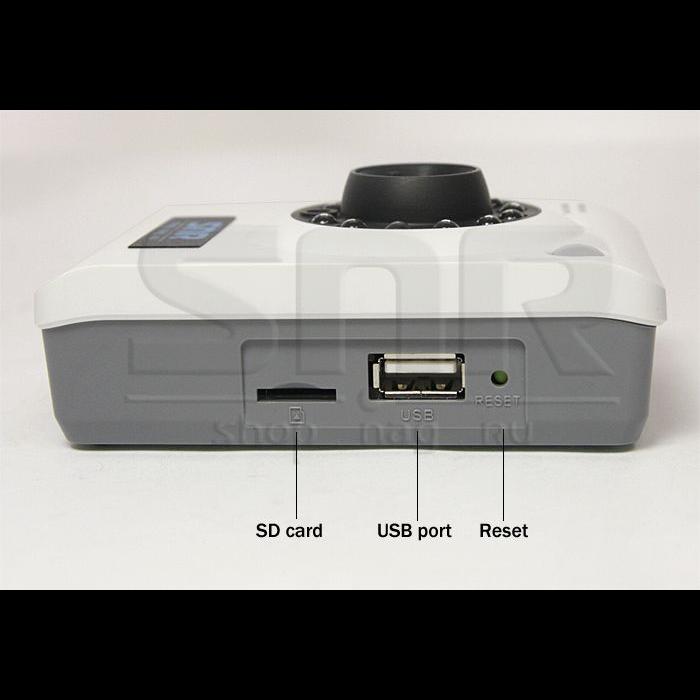 IP камера SNR офисная с ИК подсветкой, разрешение VGA  (повреждена упаковка)