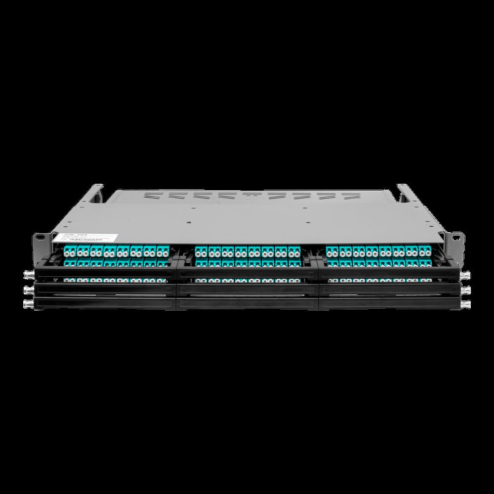 Коммутационная панель 1U под MPO кассеты на 144 порта