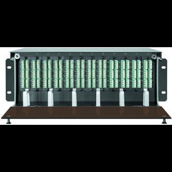 Коммутационная панель 4U под MPO кассеты