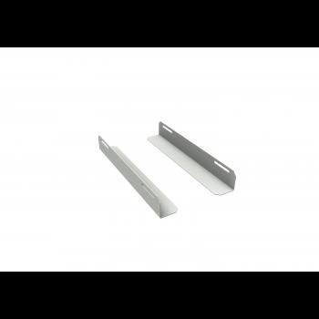 Комплект уголков опорных для шкафа глубиной 450мм (глубина уголка 200мм), распределённая нагрузка 20кг, цвет-серый (SNR-CORNER-04520-20G)