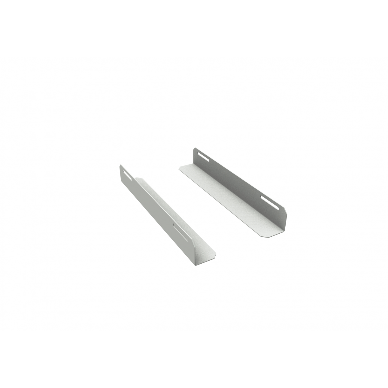 Комплект уголков опорных для шкафа глубиной 600мм (глубина уголка 400мм), распределённая нагрузка 20кг, цвет-серый (SNR-CORNER-06040-20G)