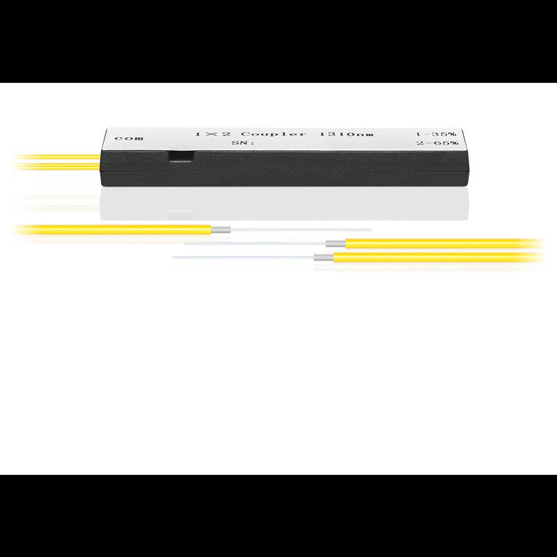 Делитель оптический корпусный dual window 1х2, 25/75
