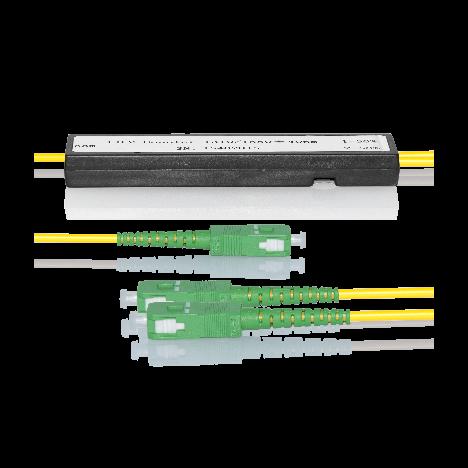 Делитель оптический корпусный dual window 1х 2 SC/APC