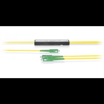 Делитель оптический корпусный трехоконный 1х2 SC/APC