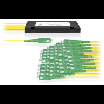 Делитель оптический корпусный dual window 1х32 SC/APC