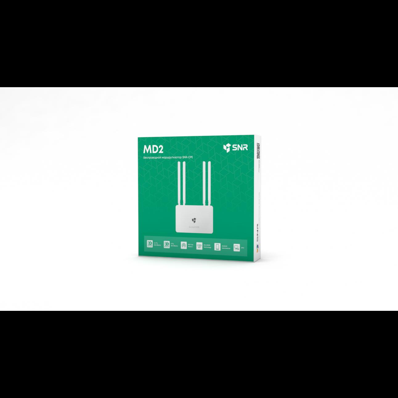 Беспроводной маршрутизатор SNR-CPE-MD2, 802.11a/b/g/n/ac, 5xFE RJ45