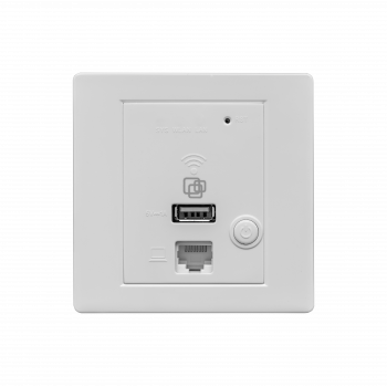 Точка доступа SNR-CPE, wall-in, 2,4ГГц 2T2R, 220VAC, чип MT7620N