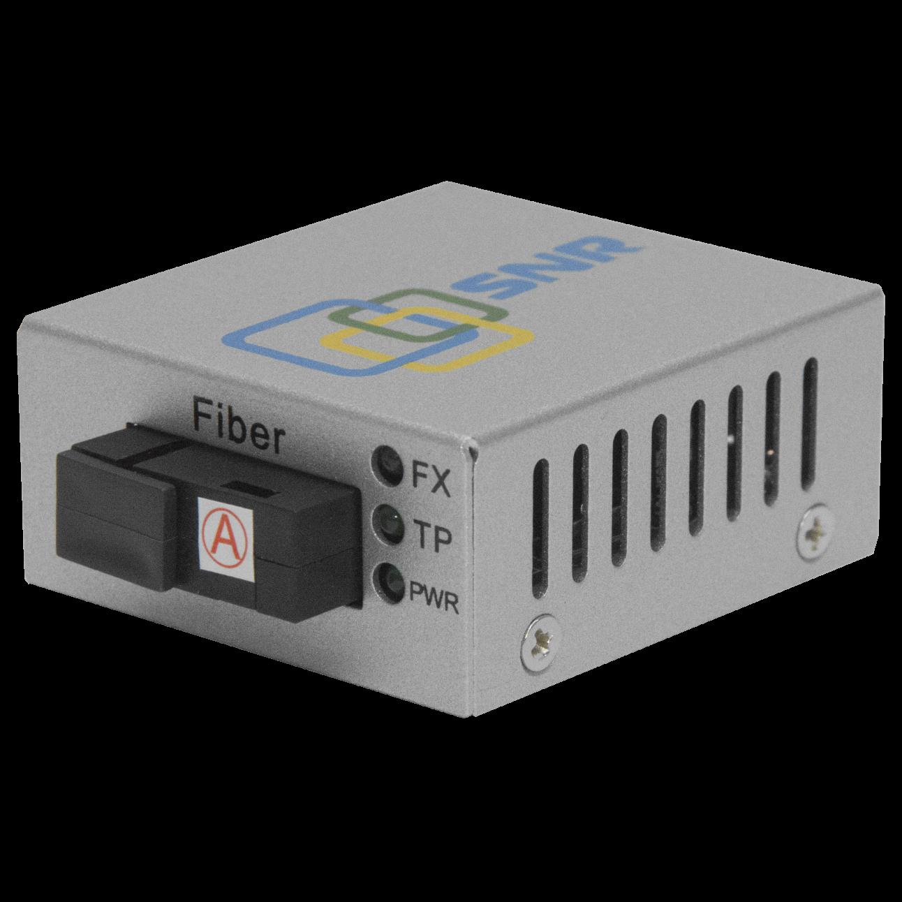 Медиаконвертер 10/100-Base-T / 100Base-FX, Tx/Rx: 1310/1550нм (некондиция)