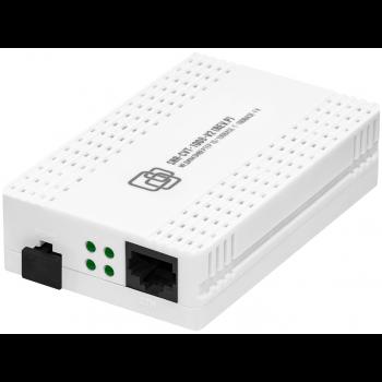 Медиаконвертер 100-Base-T/100Base-FX, Tx/Rx: 1550/1310нм, V2, пластиковый корпус