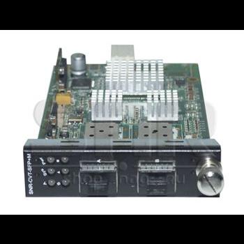 Медиаконвертерная карта SFP+/SFP+ 10G для установки в шасси SNR-CVT-CHASSIS-10G (КОМИССИОННЫЙ)