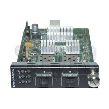Медиаконвертерная карта SFP+/SFP+ 10G для установки в шасси SNR-CVT-CHASSIS-10G