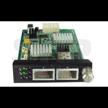 Медиаконвертерная карта XFP/XFP 10G для установки в шасси SNR-CVT-CHASSIS-10G