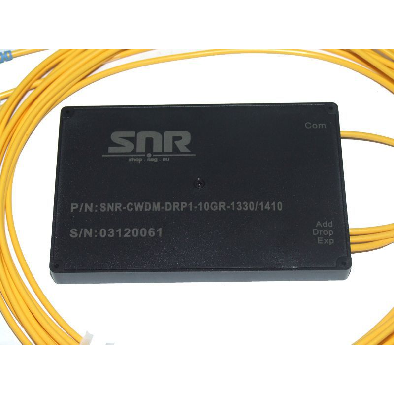 Модуль Add/Drop SNR-CWDM-10GR-OADM1-1330/1410