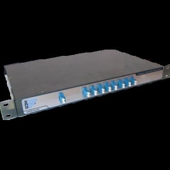 Мультиплексор CWDM одноволоконный SNR-CWDM-MDM-10GR-8A, 8-канальный
