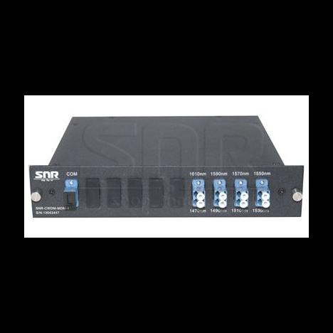 Мультиплексор CWDM одноволоконный 4-х канальный (TRx: 1270, 1290, 1310, 1330, 1530, 1550, 1510, 1570нм)