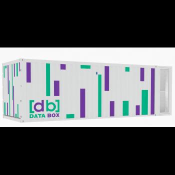 Контейнерный ЦОД DataBox, мощность ИТ - нагрузки до 5 кВт, 2x42U