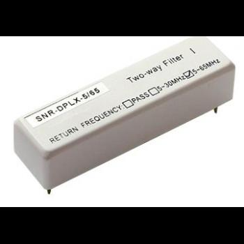 Диплексер фильтр 5/65MHz для SNR-OR-114-09