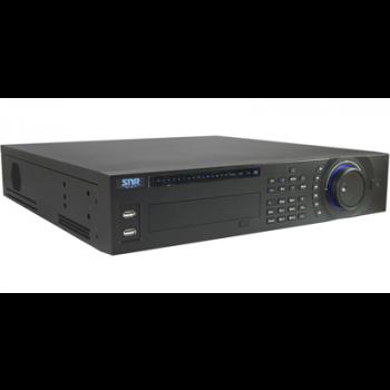 Видеорегистратор гибридный SNR-DVR-D08U-E Аналог:8-канальный, Effio 960H/200кс,8 аудио. IP: до 8 камер, 1080p/100кс, 8HDD (неполная комплектация)