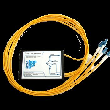 Модуль Add/Drop SNR-DWDM-OADM1-1556.55/1537.40  для одноволоконных DWDM сетей