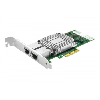 Сетевая карта 2 порта 10/100/1000/10GBase-T SNR-E2P10GT