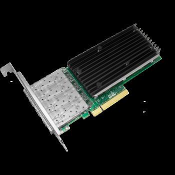 Сетевая карта 4 порта 1000Base-X/10GBase-X SNR-E4P10GS