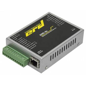 Устройство удалённого контроля и управления SNR-ERD-3s, металл корпус, блок питания, крепление DIN