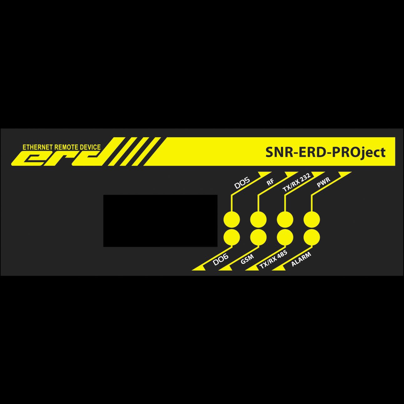 Устройство удалённого контроля и управления SNR-ERD-PROject-2, RS232/485, IO6, RF