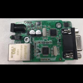 Конвертер интерфейсов RS232 - Ethernet, без БП, в термоусадке, SNR-Eth-RS232_C