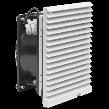 Вентилятор для настенного телекоммуникационного шкафа 120х120х38мм с фильтром