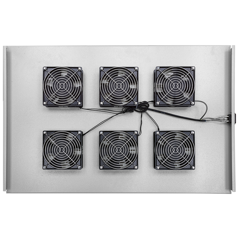 Полка вентиляторная, 6 вентиляторов 1000mm (уценка. загнуты углы)
