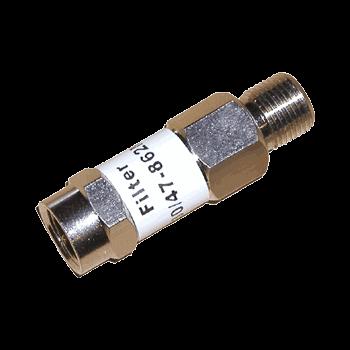 Фильтр высоких частот с полосой 5-30/47-862