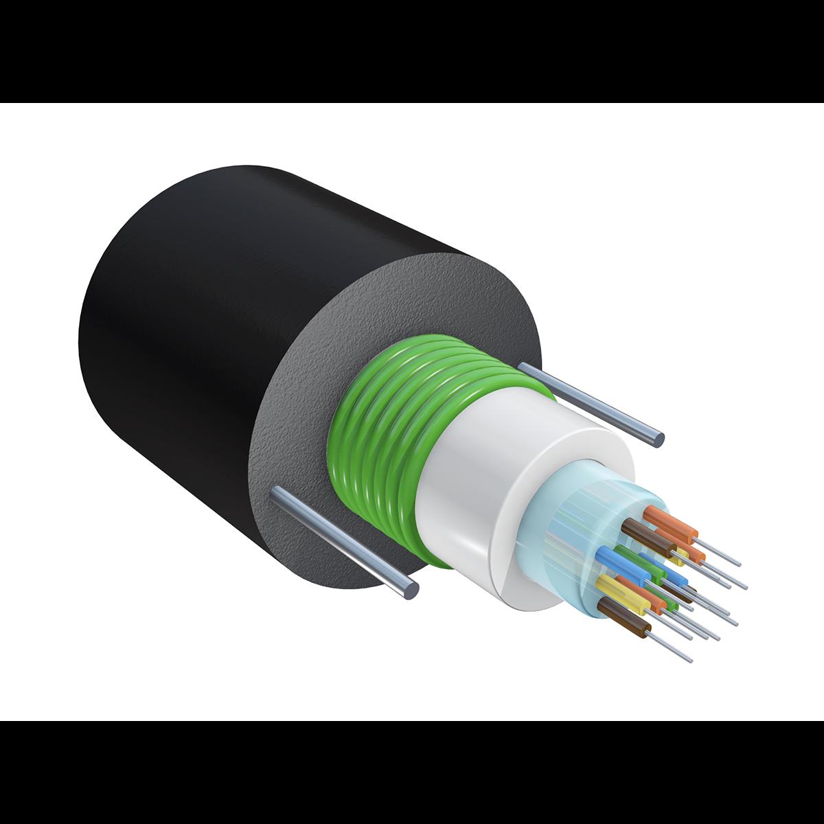Кабель оптический SNR-FOCB-UT-0-12-C, волокно Corning SMF-28 Ultra