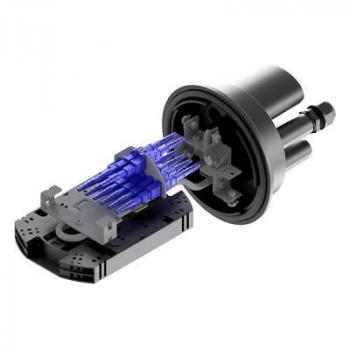 Муфта оптическая тупиковая серии SNR-FOSC-C