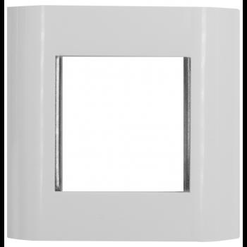 Лицевая панель 80х80 мм для модулей 45x45 металлический каркас