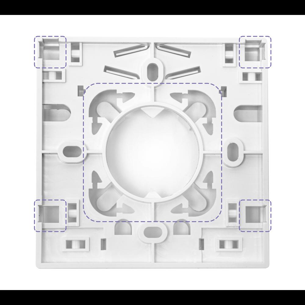 Розетка оптическая SNR-FTB-02A