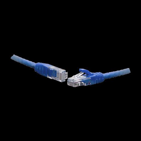 Коммутационный шнур F/UTP 4-х парный cat.5e 1.5м PVC standart синий