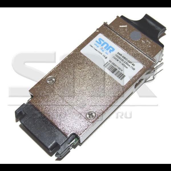 Модуль GBIC CWDM оптический, дальность до 60км (17dB), 1470нм