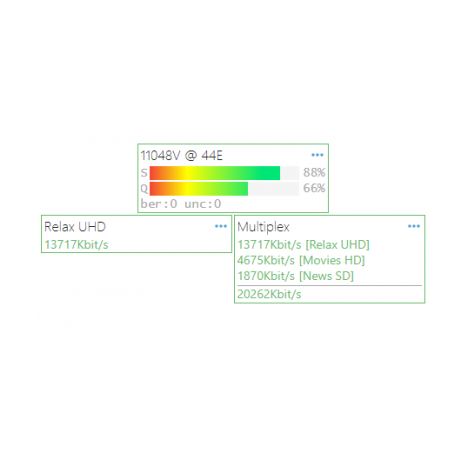 Приемник IP-стример класса M SNR-HE-IPS-2