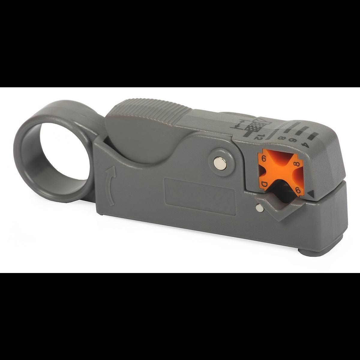 Стриппер для коаксиального кабеля (RG-58/59/62/6), 2 лезвия SNR-HT-332