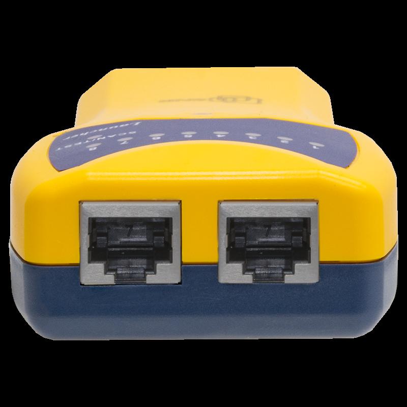 Линейный тестер с функцией поиска кабеля в пучке SNR-HT-522