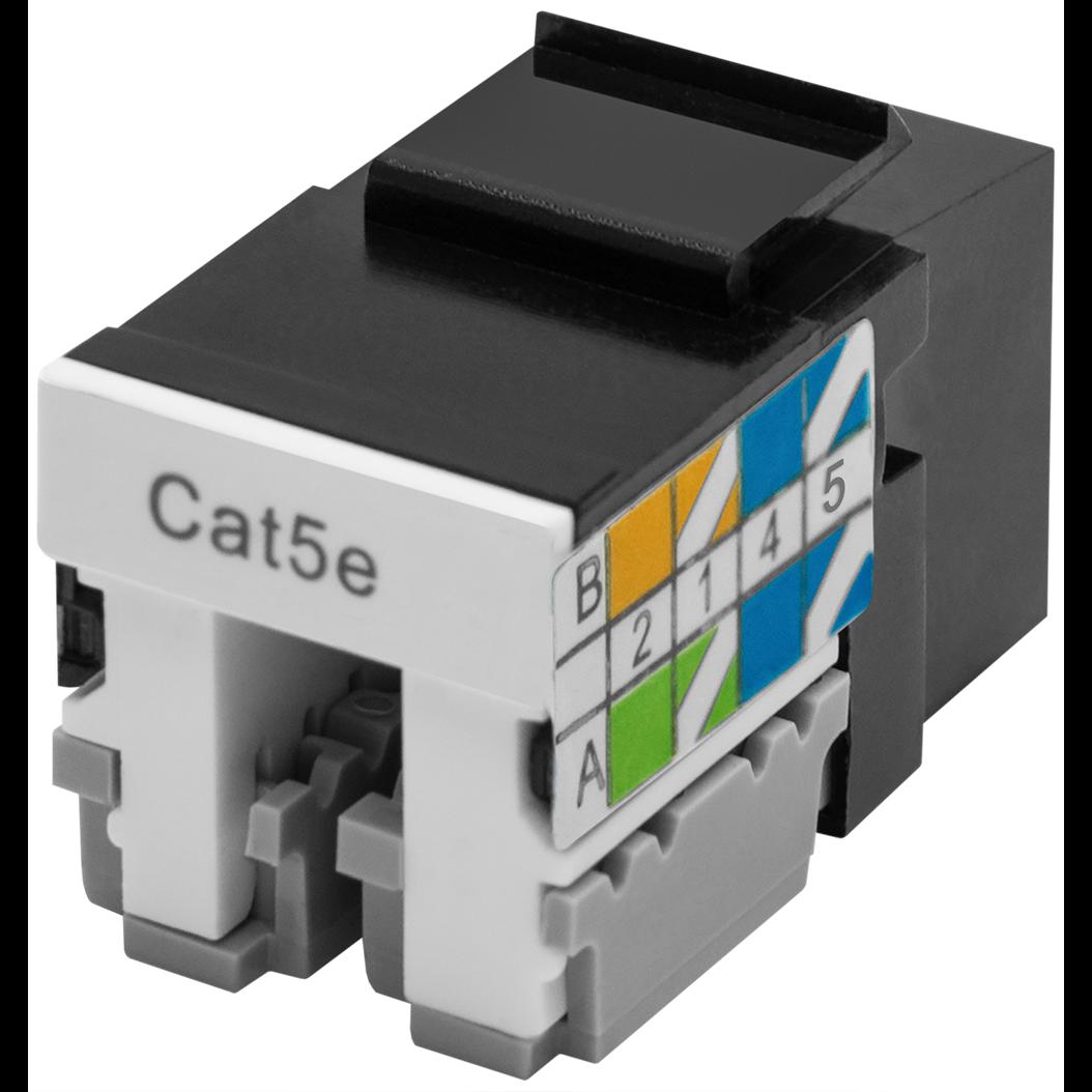Модуль Keystone Jack SNR, неэкранированный, cat.5e, вертикальная заделка, упаковка 6шт.